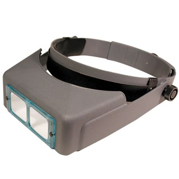 Optivisor Optical Glass Binocular Magnifier - 5 Diopter 2.5X