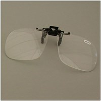 Walters 2.0D Full Frame Clip-On Loupe Magnifier for Spectacle Lens