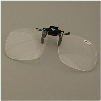 Walters 4.0D Full Frame Clip-On Loupe Magnifier for Spectacle Lens