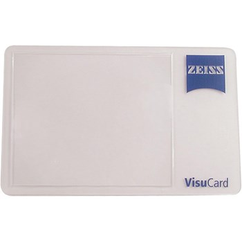 Zeiss VisuCard Wallet Size 3x Magnifiers- Pack-10