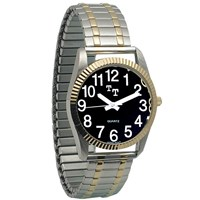 Low Vision Watch- Mens with Expansion Band