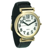 Reizen Watch - Illuminated White Face with Black Numbers