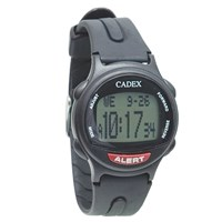 Picture of The e-pill Cadex 12 Alarm Medication Reminder Watch - Black