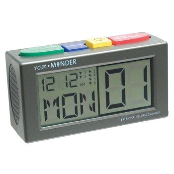 Talking Personal Recording Alarm Clock