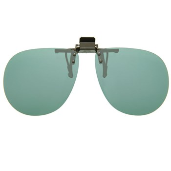 Cocoons Flip-Ups-Aviator-Gray-Size 58