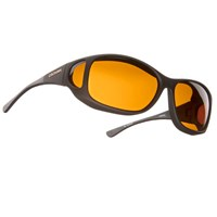 Cocoons Low Vision MX-Black Fr-Hazelnut Lens
