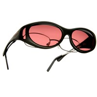 Cocoons Low Vision S-Black Frame-Boysenberry Lens