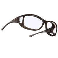 Cocoons MX Style Line-Black Frame-Clear Lens