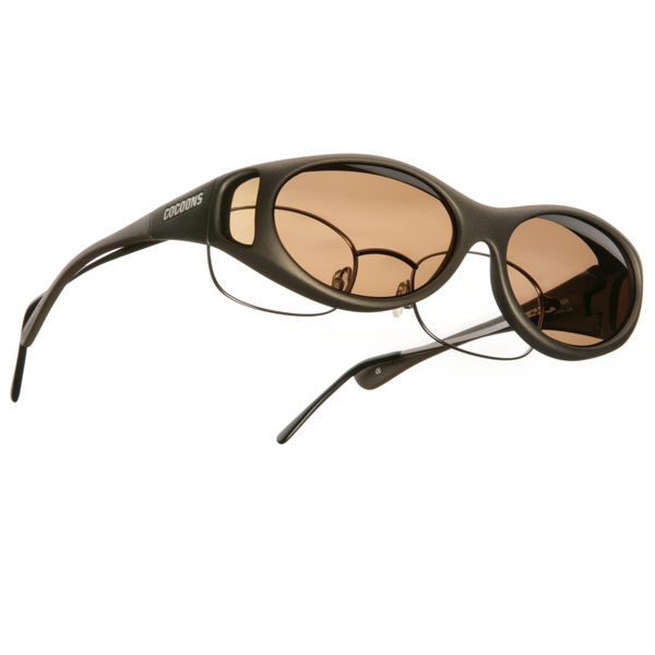 41d120d8a2e Cocoons S Stream Line OveRx Sunwear-Sand Fr-Amber Lens ...