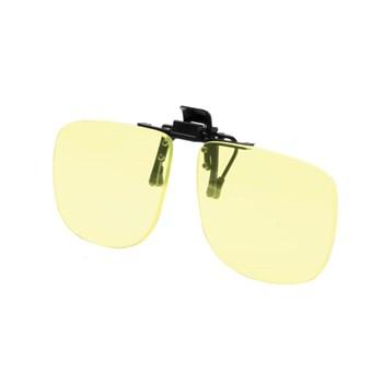 Noir Large Flip-Up Clip On Uv And Infrared 70 Percent Yellow