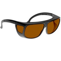 Noir Spectra Shields Large Adjustable -Fitover 16 Percent Amber