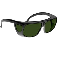 Noir Spectra Shields Large Adjustable -Fitover 18 Percent Medium Grey-Green