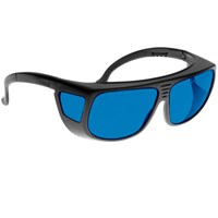 Noir Spectra Shields Large Adjustable -Fitover 30 Percent Blue