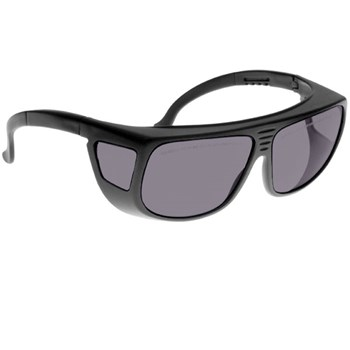 Noir Spectra Shields Large Adjustable -Fitover 32 Percent Medium Grey