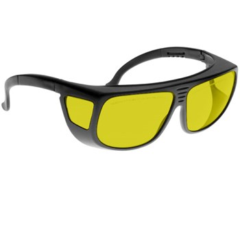 Noir Spectra Shields Large Adjustable -Fitover 54 Percent Yellow