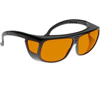 Noir Spectra Shields Large Adjustable -Fitover 56 Percent Orange
