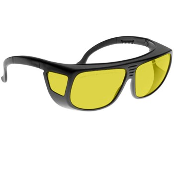 Noir Spectra Shields Large Adjustable -Fitover 70 Percent Yellow