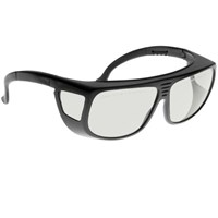 Noir Spectra Shields Large Adjustable -Fitover 90 Percent Clear