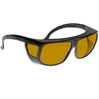 Noir Spectra Shields Medium Adjustable-Fitover 15 Percent Medium Orange