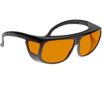 Noir Spectra Shields Medium Adjustable-Fitover 56 Percent Orange