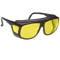 Noir Spectra Shields Small-Fitover 70 Percent Yellow