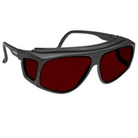 Noir Spectra Shields X-Large Fitover 4 Percent Red