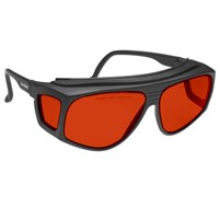 Noir Spectra Shields X-Large Fitover 47 Percent Red-Orange