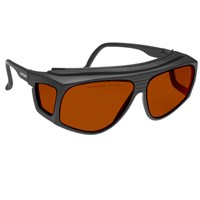Noir Spectra Shields X-Large Fitover 52 Percent Red-Orange