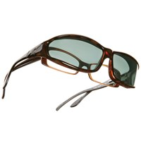Vistana OveRx Sunglasses- Tortoise w-Gray Lens-MS