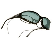 Vistana Sunglasses-Small-Black Frame-Gray Lens