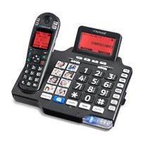 Clearsounds A1600BT Amplified Cordless Phone with Bluetooth - 50dB