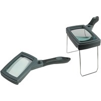 Sure Grip Hand and Stand Magnifier- 2x w-10x Spot