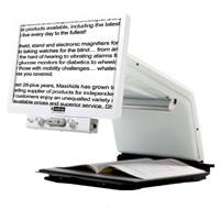 Tempus HD Electronic Magnifier - White - 22in