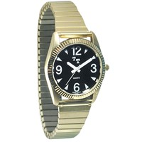 Tel-Time Low Vision Watch- Mens with Expansion Band