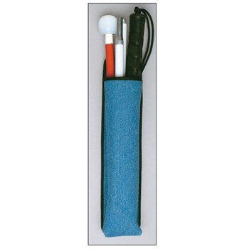 Ambutech Mobility Cane Pouch- Blue Denim