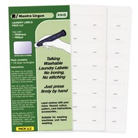 RNIB PenFriend Audio Laundry Labels-Pack 2- 48-pk