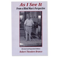 As I See It - From a Blind Mans Perspective - Book