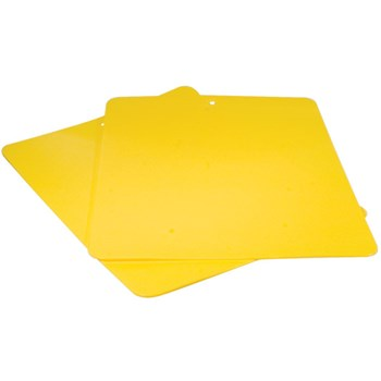 Bendy Low Vision Cutting Board - Yellow- 2-Pk