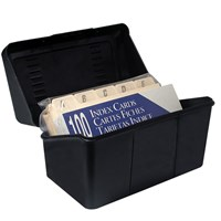 Compact 3 in. x 5 in. Tactile Filing System