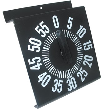 Ergonomic Long Ring Low Vision Timer - Black Dial