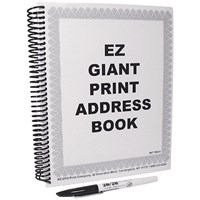 EZ Giant Print Address Book