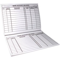 Picture of Large Print Check Deposit Register