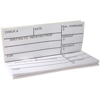 Picture of Large Print Check Register