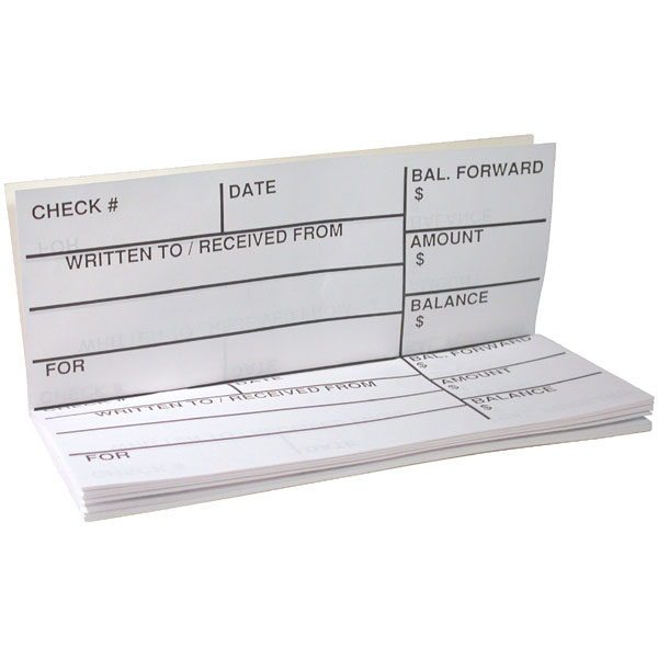 Maxiaids  Large Print Check Register