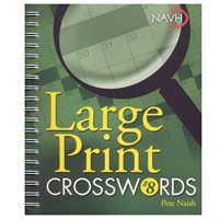 Picture of Large Print Crosswords No. 8 for Low Vision