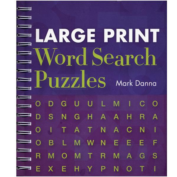 Large print large print books large print word search puzzles