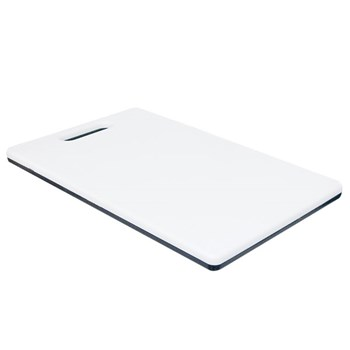 Low Vision Black and White Cutting Board - Large