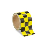 Low Vision Checkerboard Tape- Yellow and Black - 3-Inch Wide