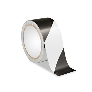 Low Vision Reflective Tape- Black and White Striped