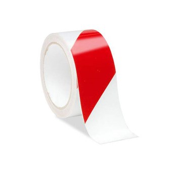 Low Vision Reflective Tape- Red and White Striped